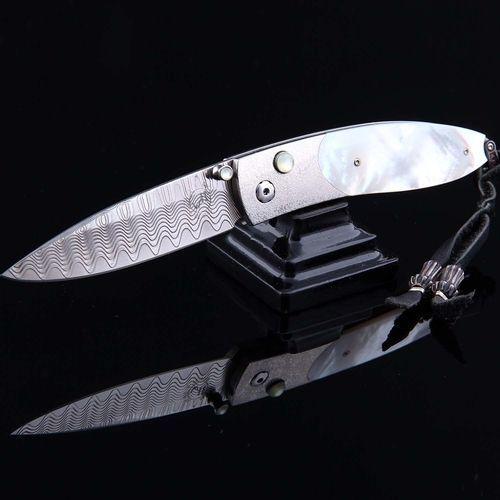 Складной нож William Henry Nautilus, сталь ZDP-189, рукоять титан
