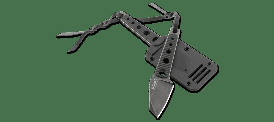 Фото 12 - Нож с фиксированным клинком CRKT No Bother, сталь 8Cr13MoV, рукоять ABS-Пластик