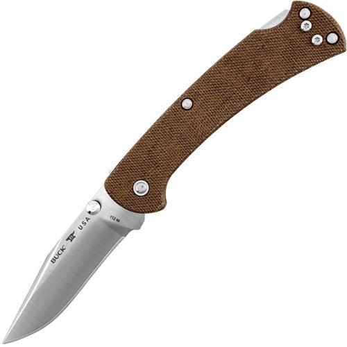 Фото 2 - Складной нож Buck Ranger Slim Pro 0112BRS6, сталь S30V, рукоять микарта