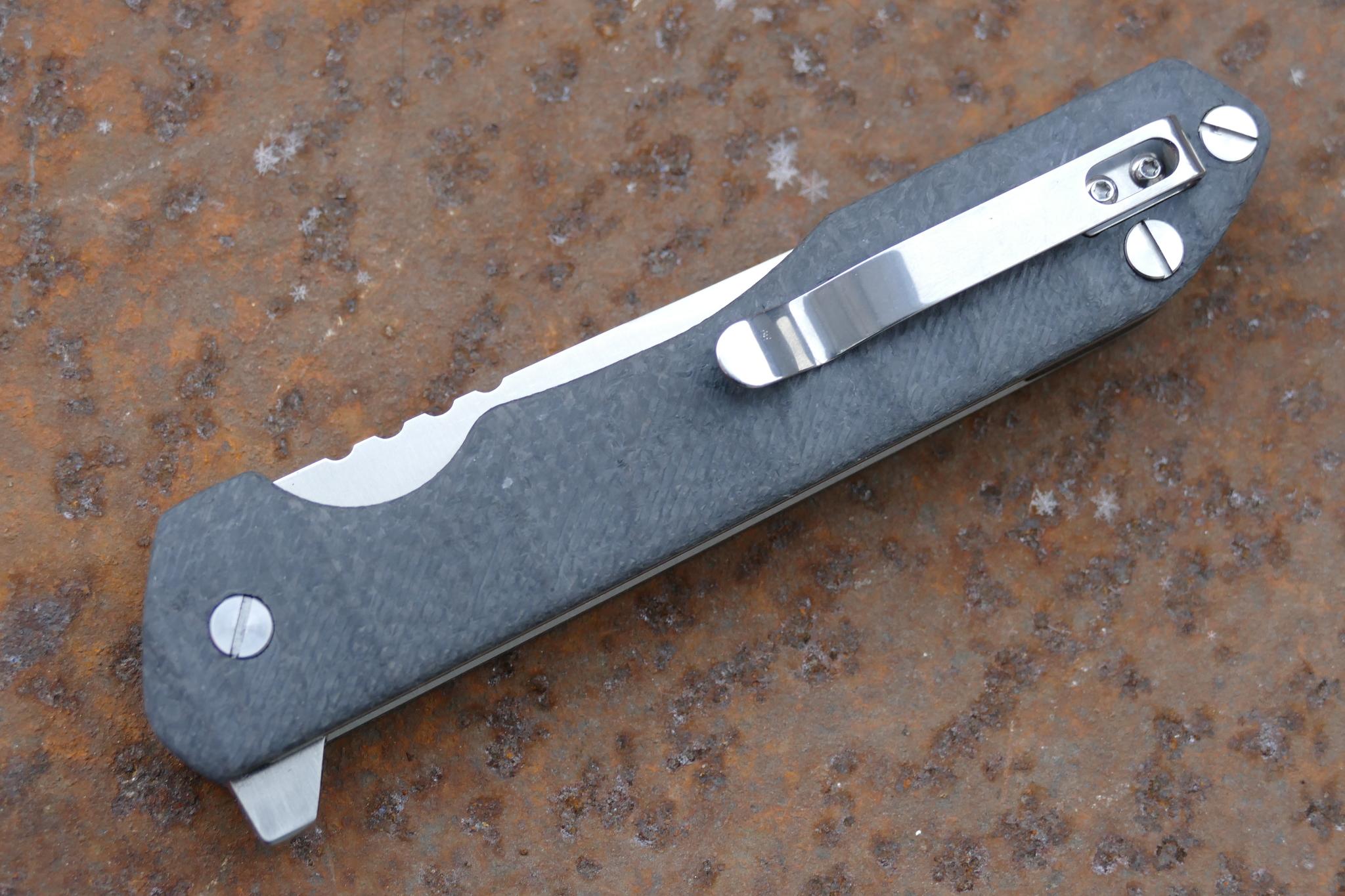 Фото 20 - Складной нож Rassenti 3, D2 от Steelclaw
