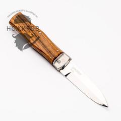 Нож автоматический Predator Mikov Wood, N690, фото 4