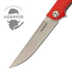 Складной нож Nimo Runenes, сталь 9Cr18MoV, красный, фото 2