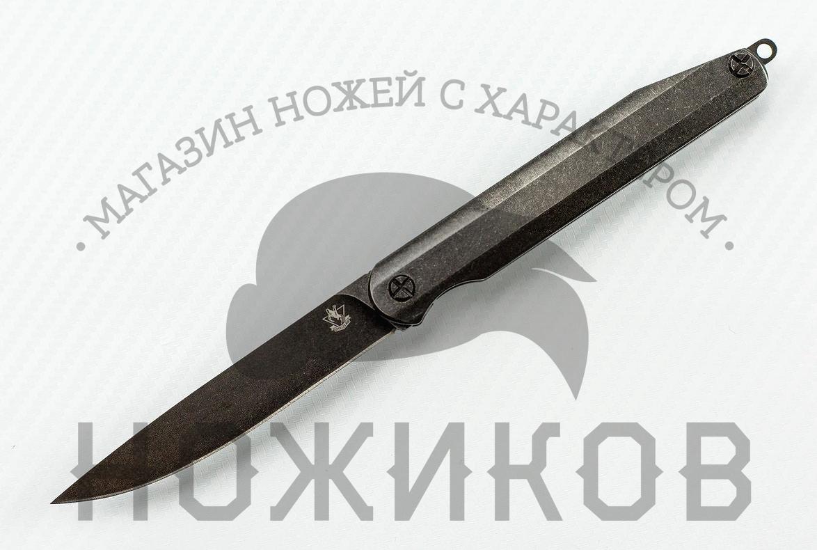 Фото - Нож Джентльмен 1 финишный гвоздь swfs свфс din1152 1 8х40 25кг тов 041025