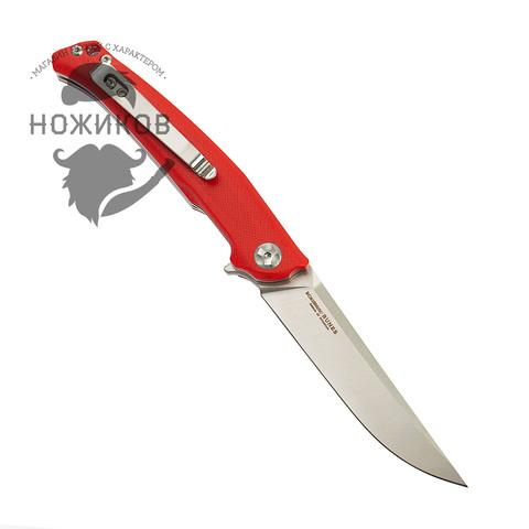 Складной нож Nimo Runenes, сталь 9Cr18MoV, красный. Вид 4