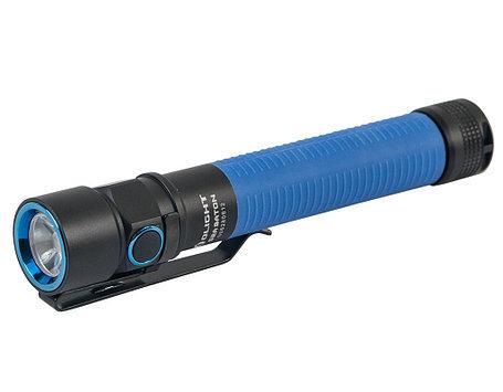все цены на Фонарь Olight S2A Baton, синий онлайн
