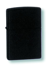 Зажигалка ZIPPO Classic с покрытием Black Matte, латунь/сталь, матовая