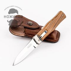 Нож автоматический Predator Mikov Wood, N690, фото 7