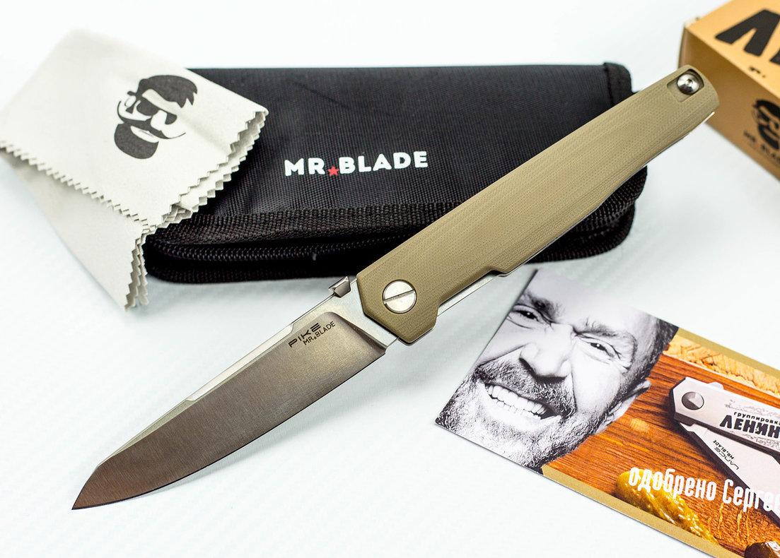 Складной нож Pike D2/G10 от Сергея Шнурова от Mr.Blade
