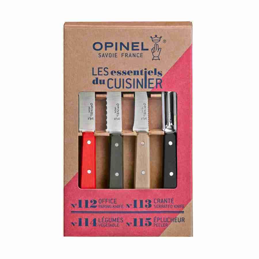 Набор ножей Opinel Les Essentiels  Loft, нержавеющая сталь, 4 шт