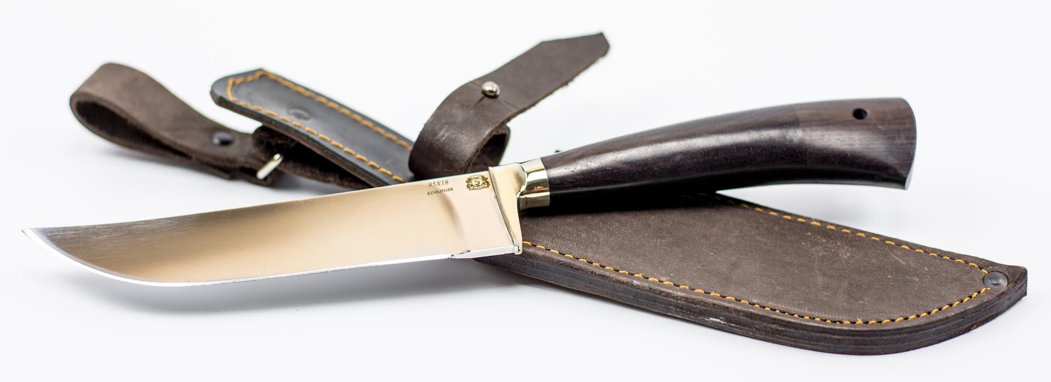 Фото 11 - Нож Пчак С, 95х18 от Мастерская Сковородихина