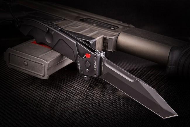 Фото 3 - Складной нож Extrema Ratio HF2 T BLACK, сталь Bhler N690, рукоять алюминий