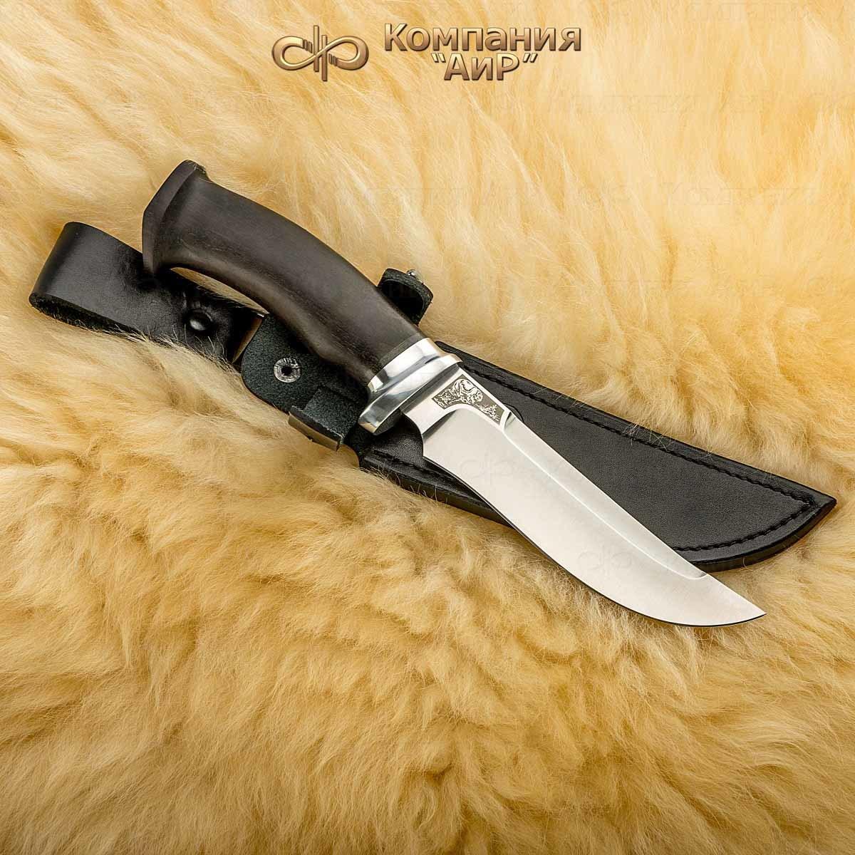 Нож разделочный АиР Росомаха, сталь Elmax, рукоять граб