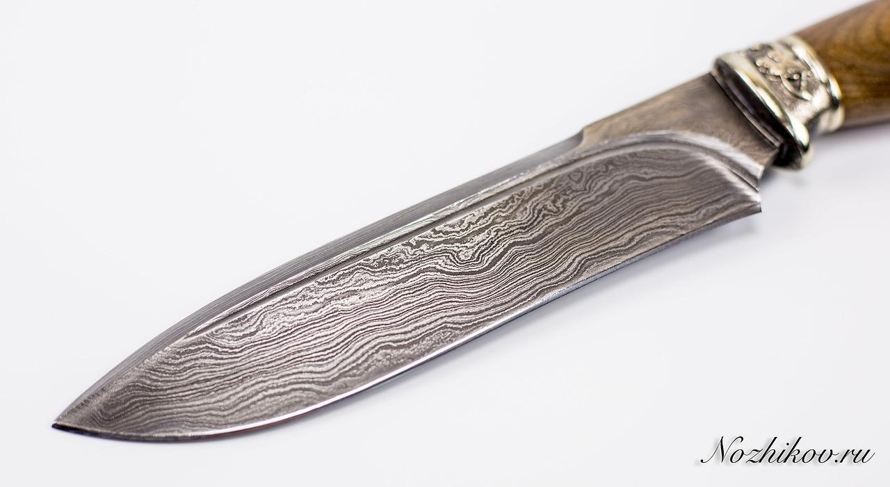 Фото 10 - Авторский Нож из Дамаска №47, Кизляр от Noname
