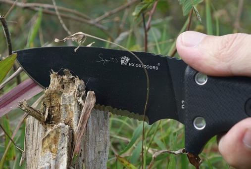 Нож для выживания Коготь HX OUTDOORS