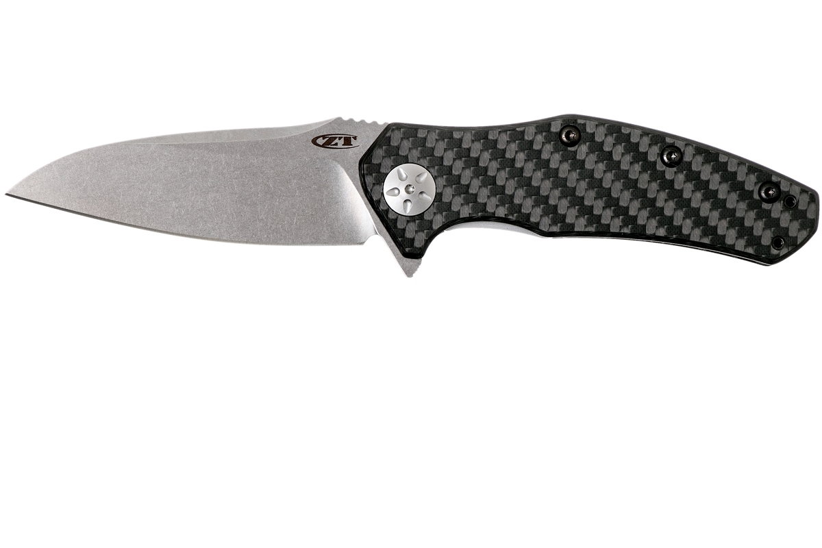Складной нож Zero Tolerance 0770CF, сталь CPM-S35VN, рукоять карбон