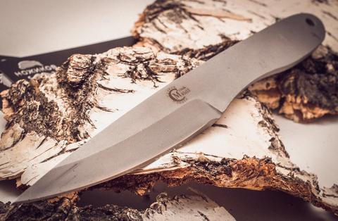 Нож метательный Игла 2, сталь 65х13. Вид 2