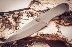 Нож метательный Игла 2, сталь 65х13, фото 2