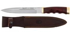 Нож с фиксированным клинком Bowie, Pakka Wood Handles 18.0 см. U/BW-18R