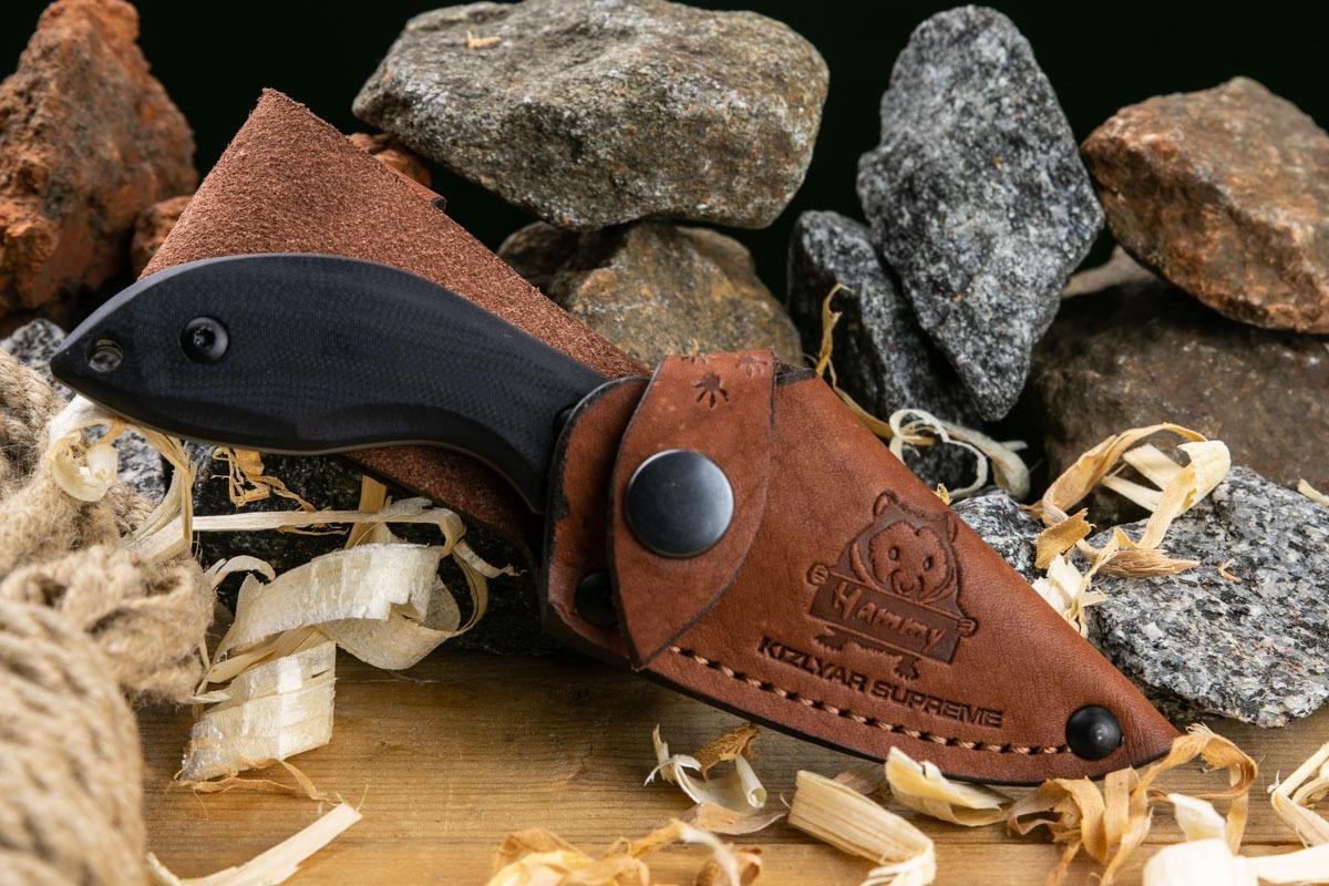Фото 20 - Шейный нож Hammy PGK TW, Kizlyar Supreme