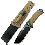 Нож для выживания Nightingale, Brown
