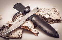 Нож метательный Игла 2, сталь 65х13, фото 3