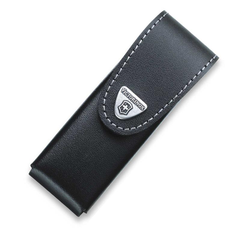 Чехол Victorinox Leather Belt Pouch, поворотный крепеж, черный