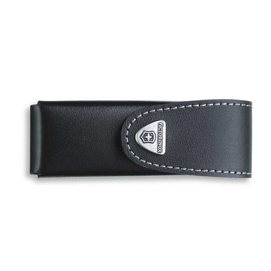 Фото 7 - Чехол Victorinox Leather Belt Pouch, поворотный крепеж, черный