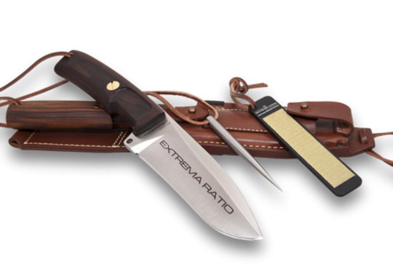 Фото 5 - Нож для выживания с фиксированным клинком Extrema Ratio Dobermann IV S Africa, сталь Bhler N690, рукоять дерево