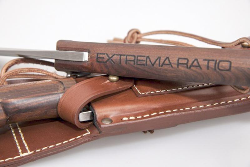 Фото 8 - Нож для выживания с фиксированным клинком Extrema Ratio Dobermann IV S Africa, сталь Bhler N690, рукоять дерево