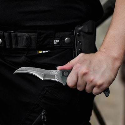 Нож с фиксированным клинком Гадюка