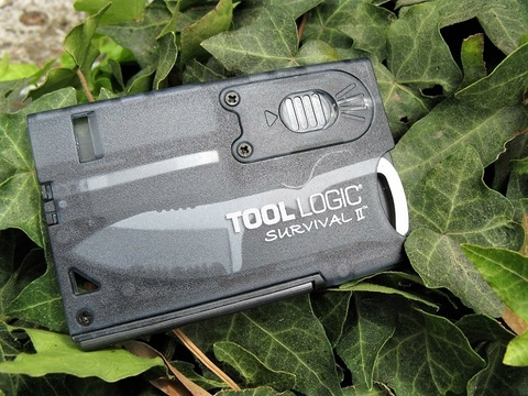 Швейцарская карта Tool Logic Survival Card-2 - SOG TLSVC2, сталь 420J2, материал пластик. Вид 5