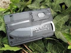 Швейцарская карта Tool Logic Survival Card-2 - SOG TLSVC2, сталь 420J2, материал пластик, фото 5
