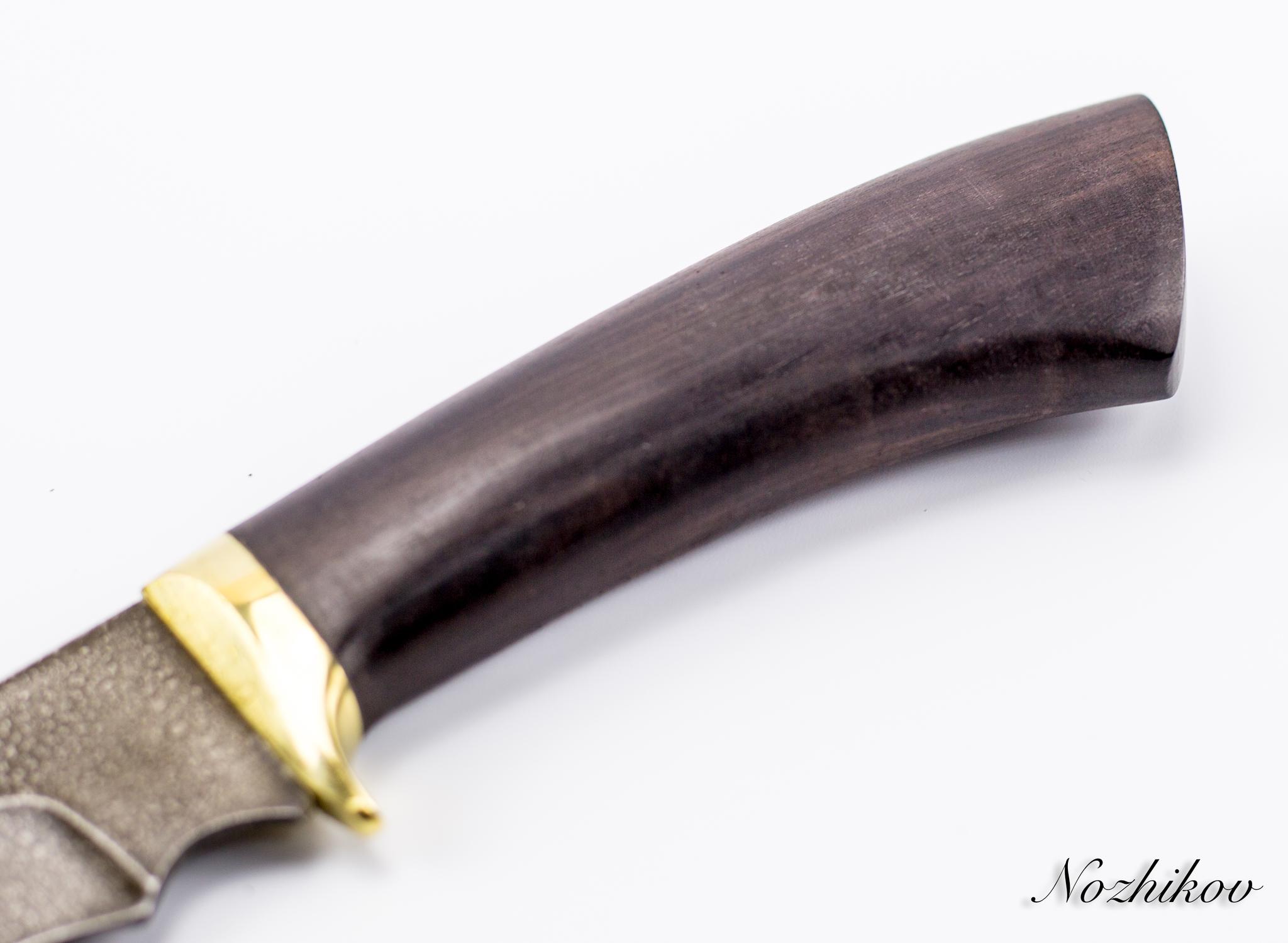Фото 10 - Нож Волк-2, сталь ХВ5, граб от Промтехснаб
