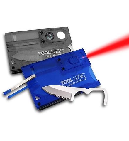 Швейцарская карта Tool Logic Survival Card-2 - SOG TLSVC2, сталь 420J2, материал пластик. Вид 8