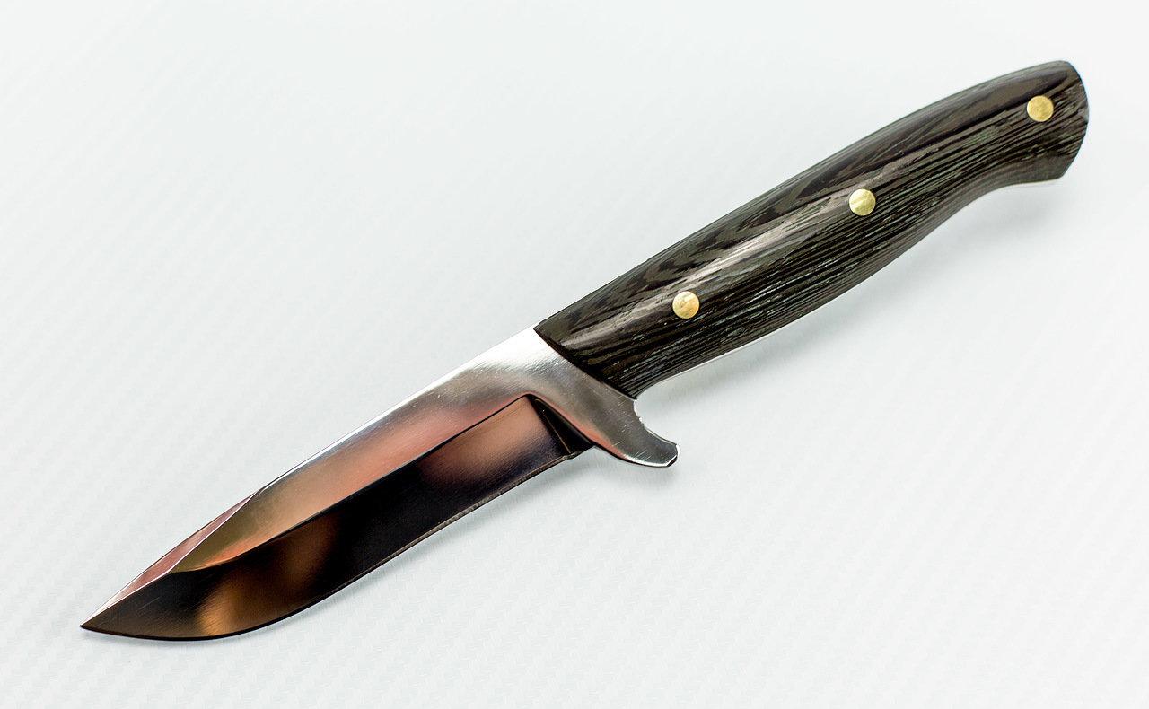 Нож цельнометаллический Дельфин, Х12МФ нож цельнометаллический вуди х12мф