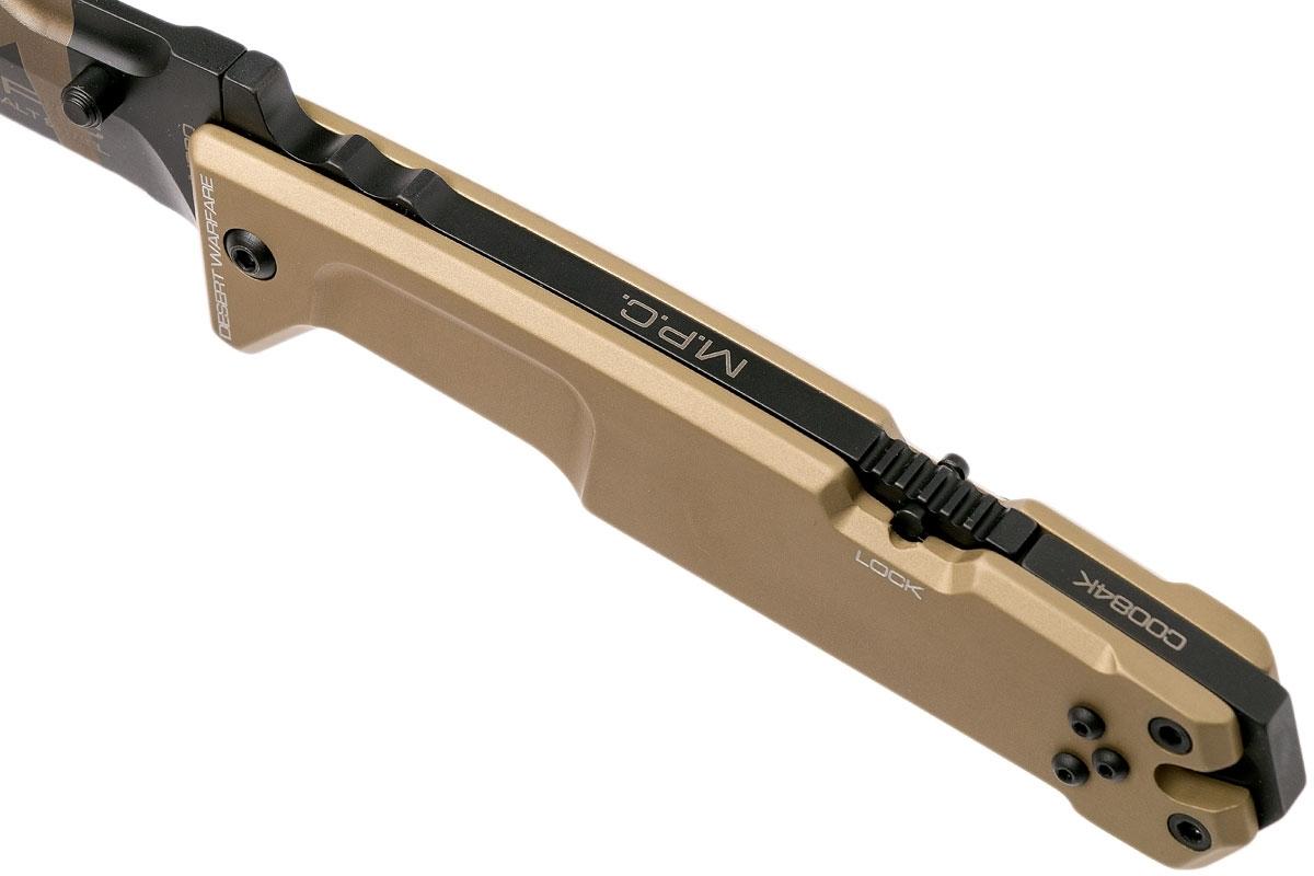 Фото 12 - Складной нож Extrema Ratio M.P.C. (Multi Purpose Compact) Desert Warfare, сталь Bhler N690, рукоять антикородал (алюминиевый сплав), песочный камуфляж