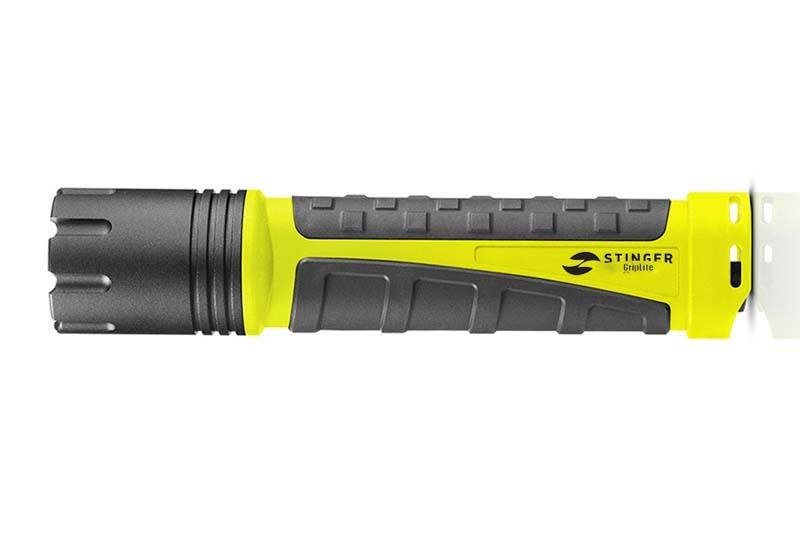 Фонарь светодиодный для дайвинга STINGER GripLite PT0-C4A2, 260 лм, жёлтый/чёрный цена 2017