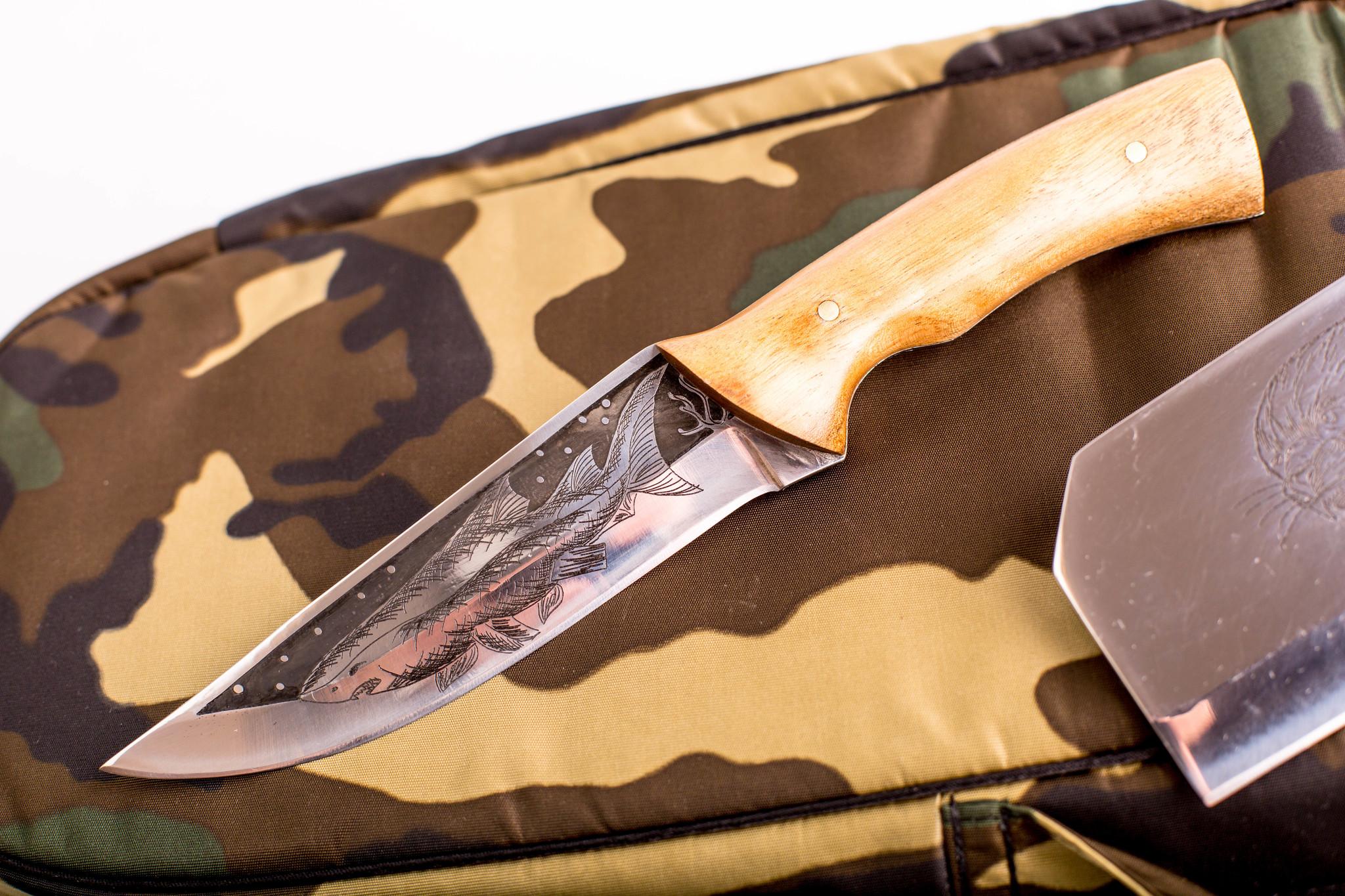 Фото 9 - Шашлычный набор Камуфляж, Кизляр от Кизляр СТО