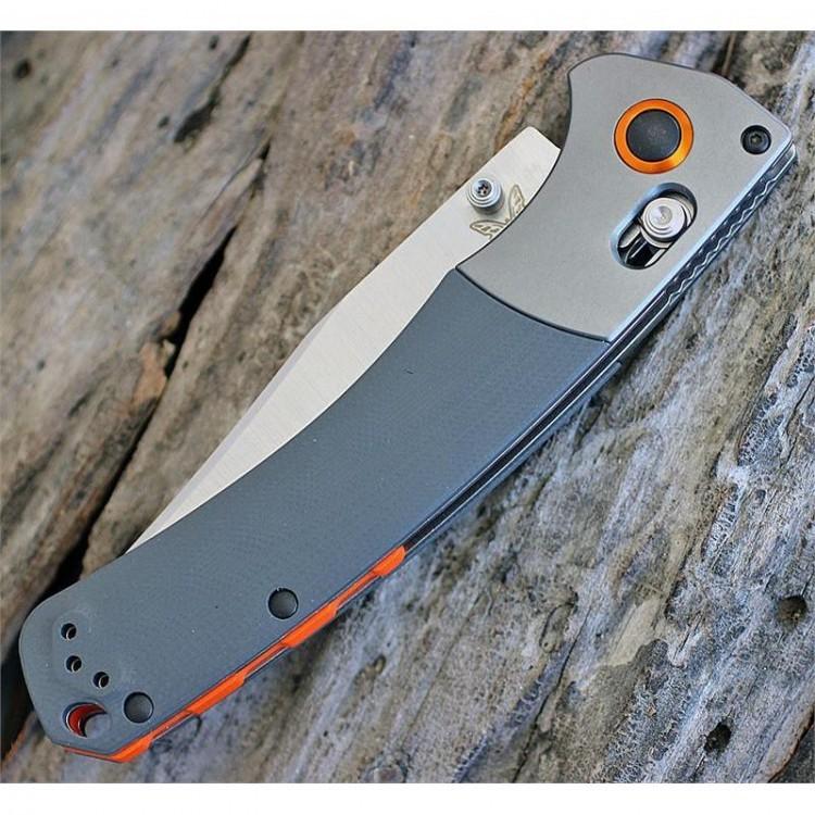 Фото 9 - Нож складной Benchmade Hunt Series Crooked River 15080-1, сталь CPM-S30V, рукоять G10