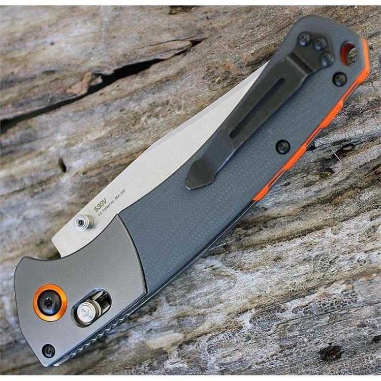 Фото 10 - Нож складной Benchmade Hunt Series Crooked River 15080-1, сталь CPM-S30V, рукоять G10