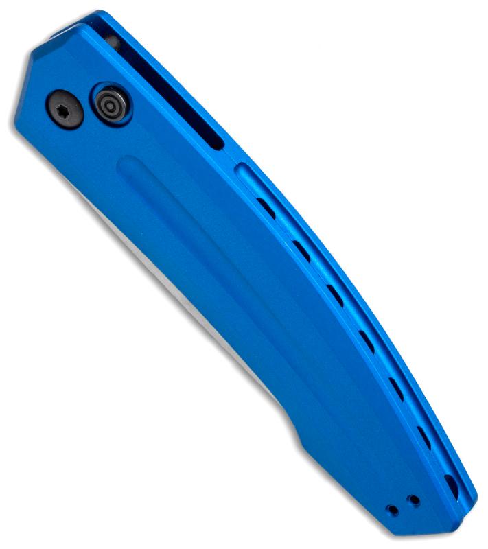 Фото 7 - Полуавтоматический складной нож Launch 2 - Kershaw 7200BLUSW, сталь Crucible CPM® 154, рукоять анодированный алюминий, синий