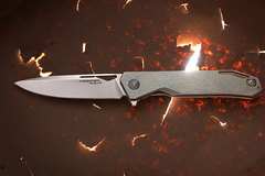 Складной нож Keeper M390, Titanium, фото 1