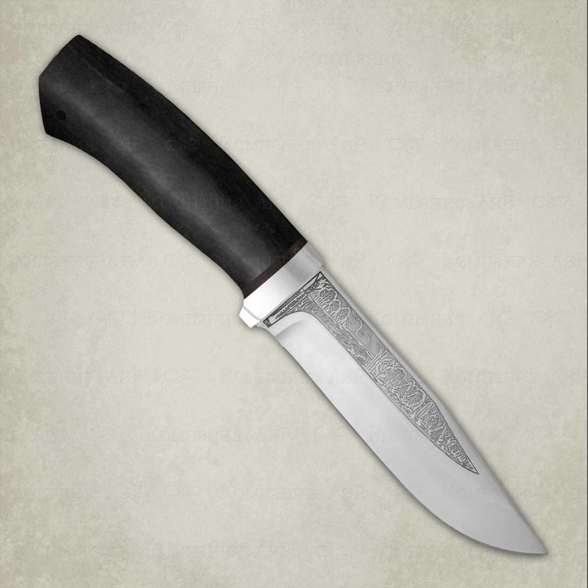 Фото - Нож АиР Турист, сталь Elmax, рукоять граб складной нож wild west сталь elmax рукоять карбон