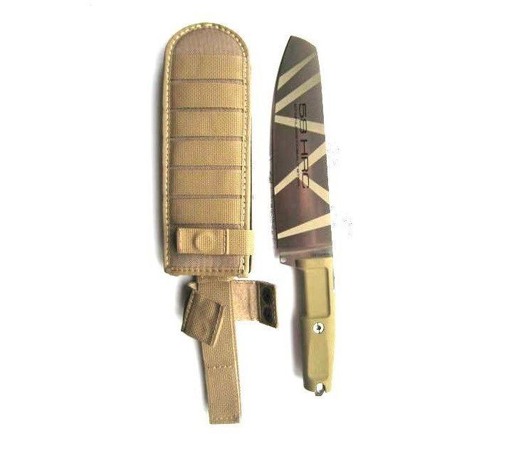 Фото 6 - Полевой поварской нож Extrema Ratio Kato 20 Desert Camo, сталь Bhler N690, рукоять Forprene®