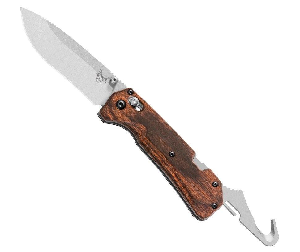 Фото 7 - Нож складной Benchmade Grizzly Creek 15060-2, сталь CPM-S30V, рукоять дерево