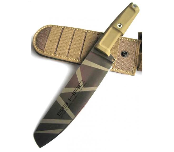 Фото 9 - Полевой поварской нож Extrema Ratio Kato 20 Desert Camo, сталь Bhler N690, рукоять Forprene®
