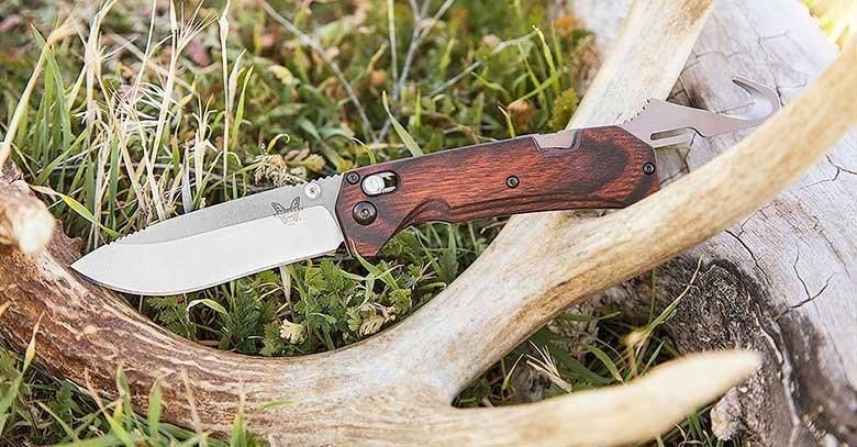 Фото 11 - Нож складной Benchmade Grizzly Creek 15060-2, сталь CPM-S30V, рукоять дерево