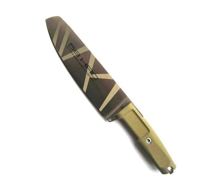Фото 11 - Полевой поварской нож Extrema Ratio Kato 20 Desert Camo, сталь Bhler N690, рукоять Forprene®