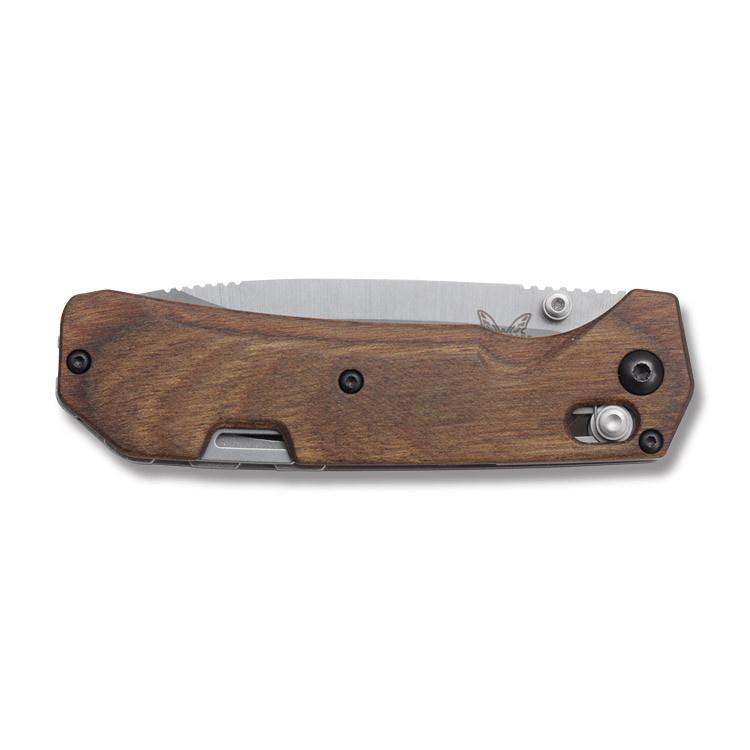 Фото 12 - Нож складной Benchmade Grizzly Creek 15060-2, сталь CPM-S30V, рукоять дерево