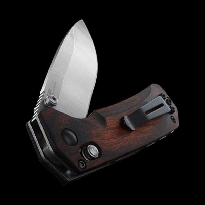 Фото 13 - Нож складной Benchmade Grizzly Creek 15060-2, сталь CPM-S30V, рукоять дерево